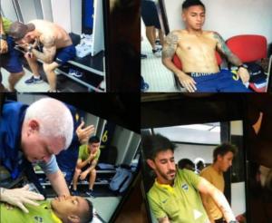 """""""Χαμός"""" στο Ρίβερ – Μπόκα! H FIFA """"πιέζει"""" τις ομάδες να αρχίσει το ματς – Απίστευτες εικόνες από τα αποδυτήρια – videos"""