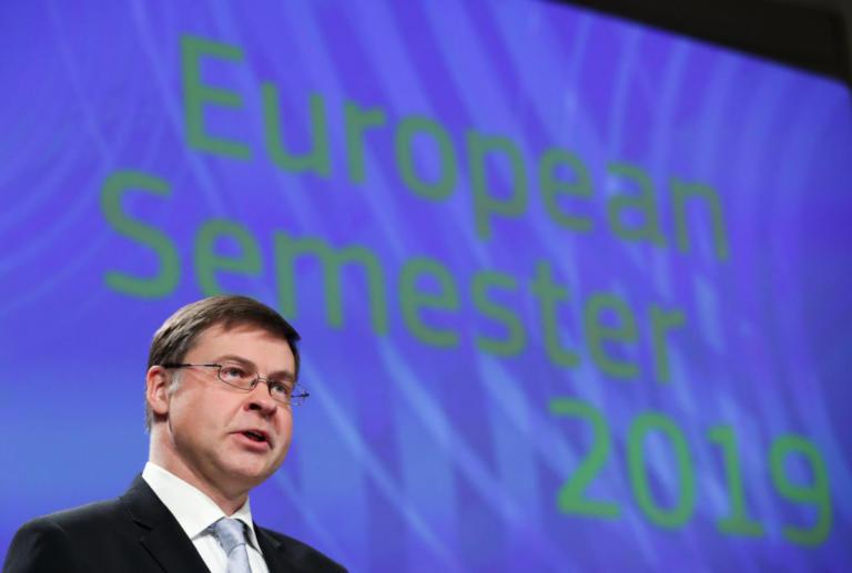 Ντομπρόβσκις για πακέτο παροχών: Η Ελλάδα να τηρήσει τους συμφωνημένους στόχους