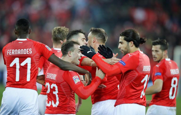 """Nations League: Απίθανο ματς με 7 γκολ στην Ελβετία! """"Αυτοκτόνησε"""" και έμεινε εκτός το Βέλγιο – video"""