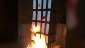 Έφτιαξαν ομοίωμα του Πύργου του Γκρένφελ, έβαλαν φωτιά και κορόιδευαν τα θύματα! [video]
