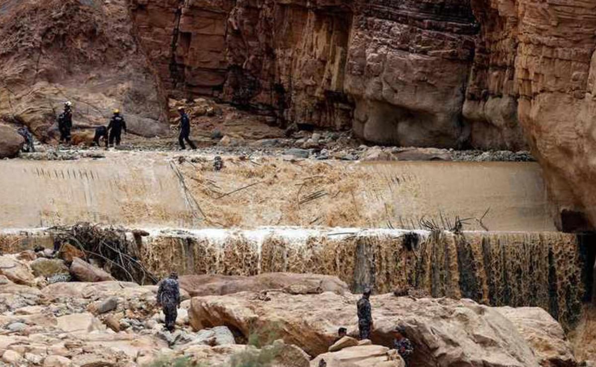 Ιορδανία: Τουλάχιστον 7 νεκροί από τις ισχυρές βροχοπτώσεις