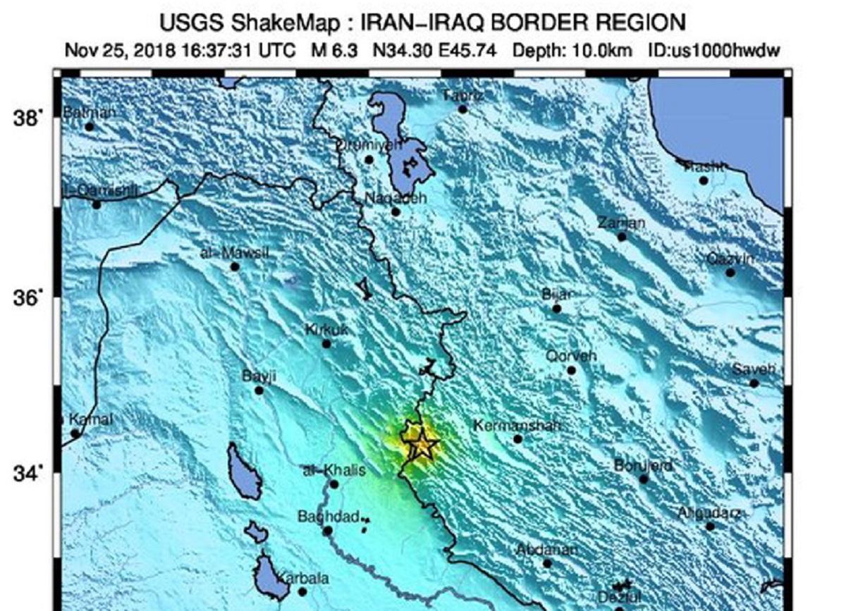 Ιράν: Ξεπέρασαν τους 400 οι τραυματίες από τον σεισμό των 6,4 Ρίχτερ!