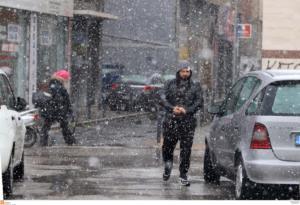 Καιρός: Ξαφνικά χειμώνας με κρύο, χιόνια και βροχές!