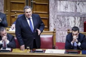 Σύγκρουση Καμμένου – Κικίλια στη Βουλή για τα αναδρομικά των ενστόλων
