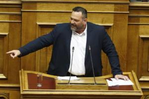 Νέο παραλήρημα Λαγού στη Βουλή: Δεν υπήρξαν νεκροί στο Πολυτεχνείο – video