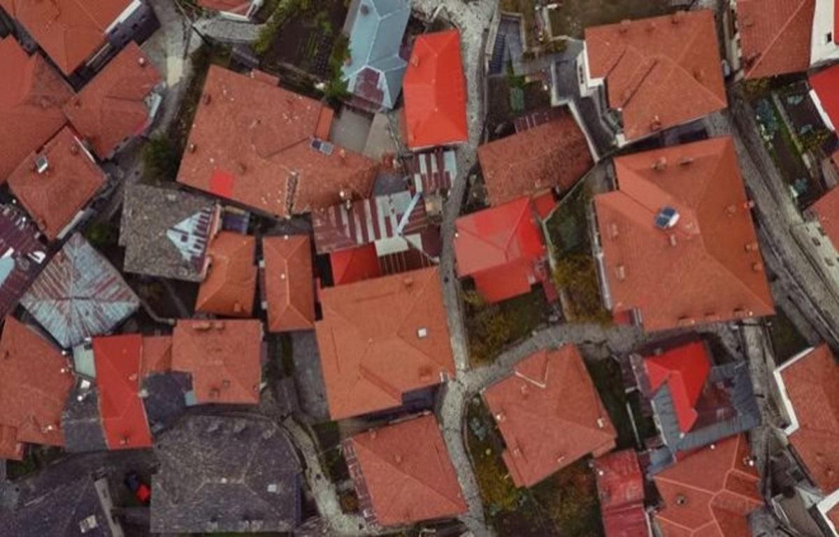 Το Μέτσοβο από ψηλά – Μαγικές εικόνες! Video