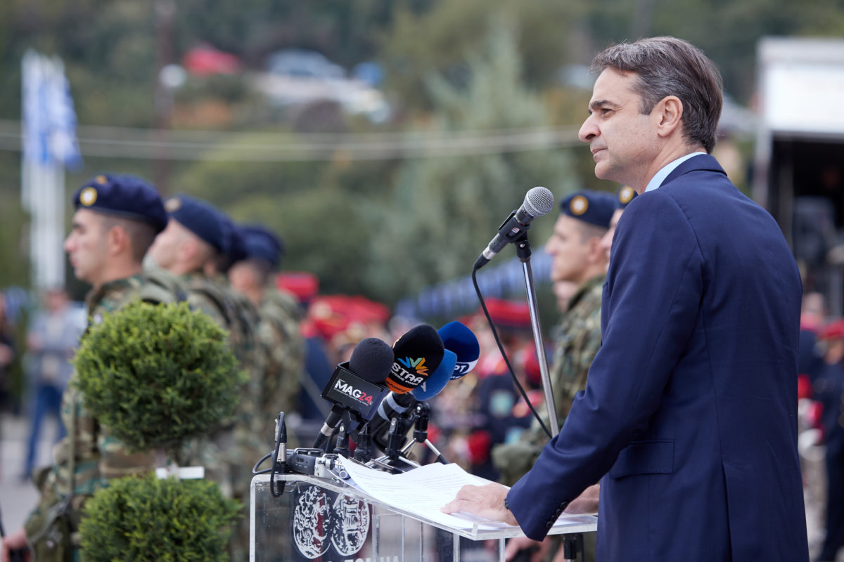 Οι συμβολισμοί της επίσκεψης Μητσοτάκη στο Γοργοπόταμο – Τι λένε στη ΝΔ για τις δημοσκοπήσεις