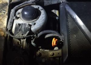 Γιάννενα: Άνοιξαν το καπό και είδαν αυτές τις εικόνες στη μηχανή του αυτοκινήτου [pics]