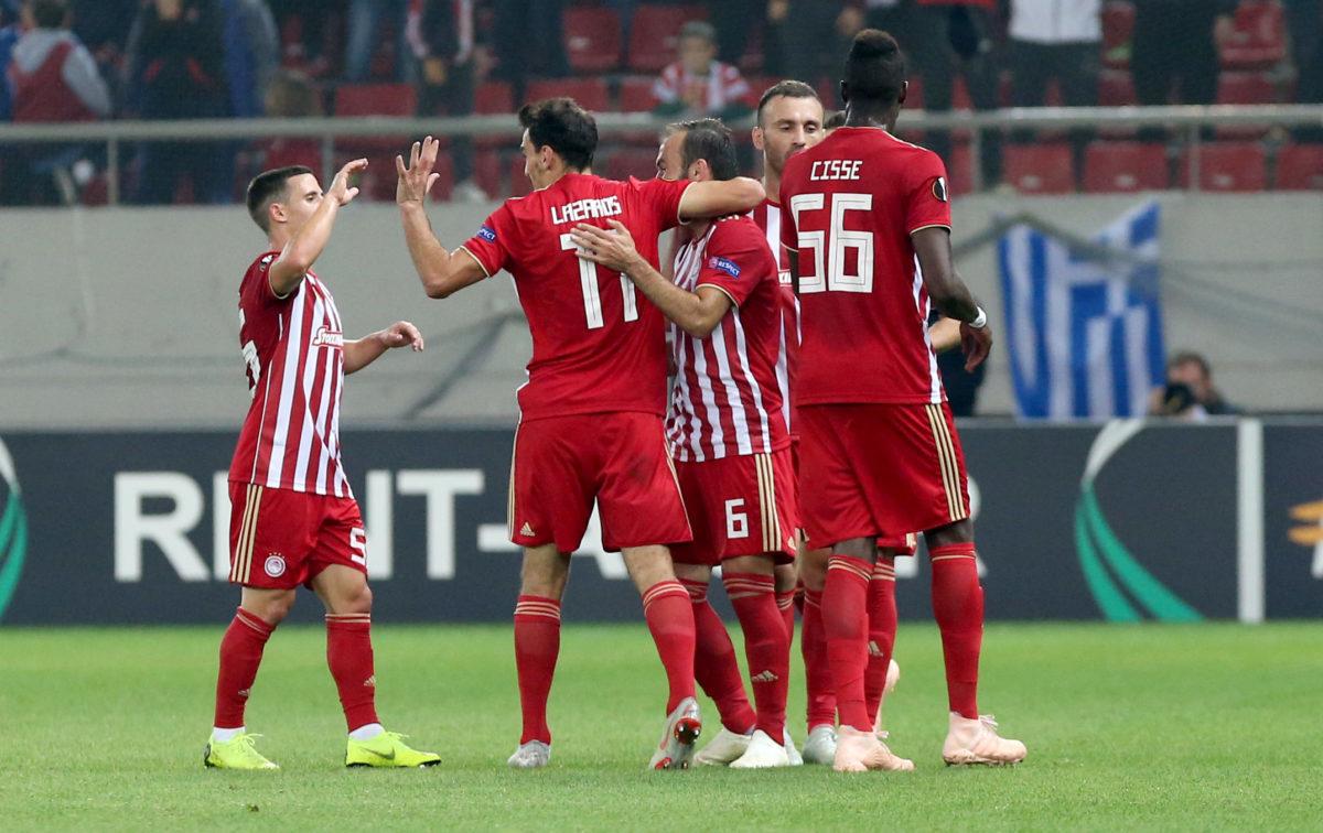 """Ολυμπιακός – Ντουντελάνζ 5-1 ΤΕΛΙΚΟ – Ερυθρόλευκο """"πάρτι"""""""