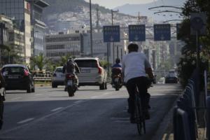 Αυτό είναι το νέο δίκτυο ποδηλατοδρόμων της Αθήνας