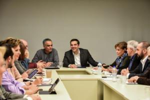 """Εκλογές, συνταγματικές αλλαγές και ΕΡΤ στο """"μενού"""" της Πολιτικής Γραμματείας του ΣΥΡΙΖΑ"""