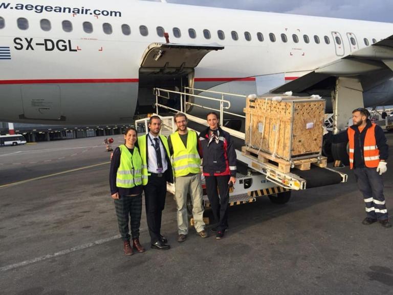Ηράκλειο: Έμαθαν τι έκρυβε η ξύλινη κατασκευή που μπήκε στο αεροπλάνο και οι εικόνες σάρωσαν το διαδίκτυο [pics]