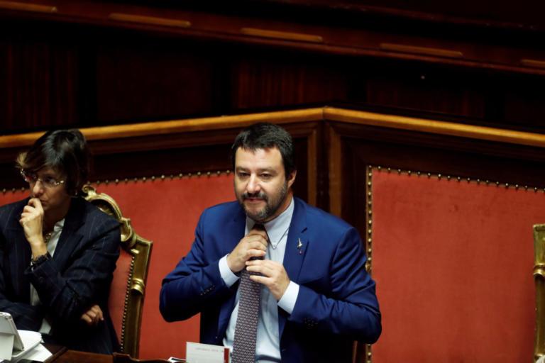 Σαλβίνι: Αν η γαλλογερμανική πρόταση ζημιώνει την Ιταλία, δεν θα συναινέσουμε