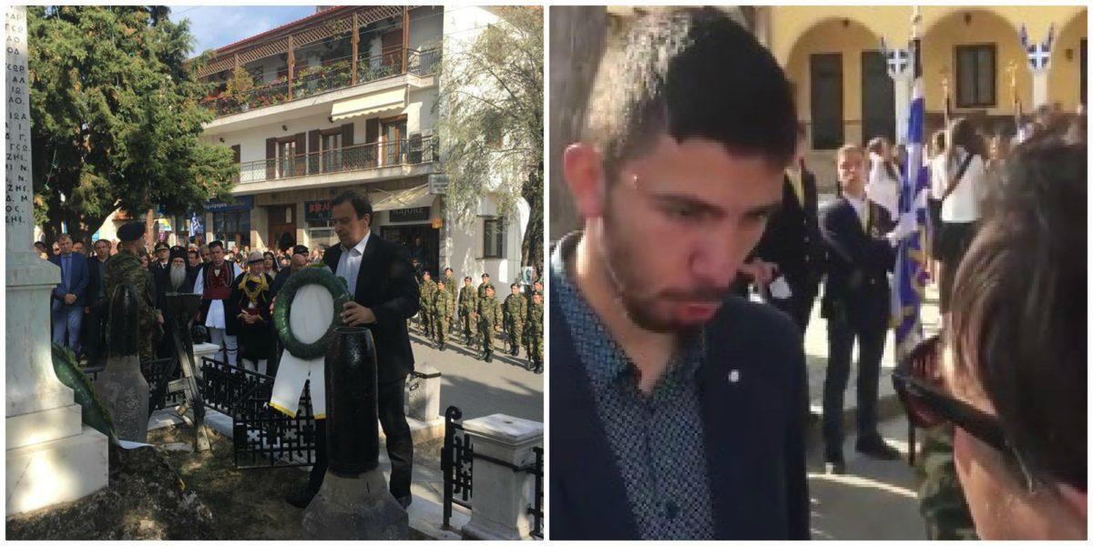 Κοζάνη: Νεαρός αποδοκίμασε βουλευτή του ΣΥΡΙΖΑ: «Δεν ντρέπεσαι;» – video