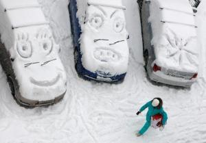 """Τσουνάμι χιονιού """"καταπίνει"""" πόλη στην Σιβηρία [video]"""