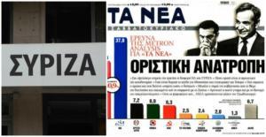 """""""Πουλι-τζερ""""! Απίστευτη επίθεση ΣΥΡΙΖΑ εναντίον Νέων για την δημοσκόπηση!"""