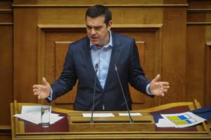 Προεκλογικός Τσίπρας στη Βουλή – Από τις αυξήσεις στις συντάξεις μέχρι τον… Τσοβόλα