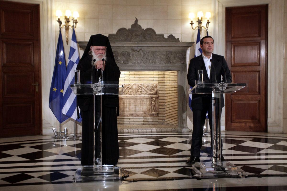 Ο πρωθυπουργός και ο Αρχιεπίσκοπος