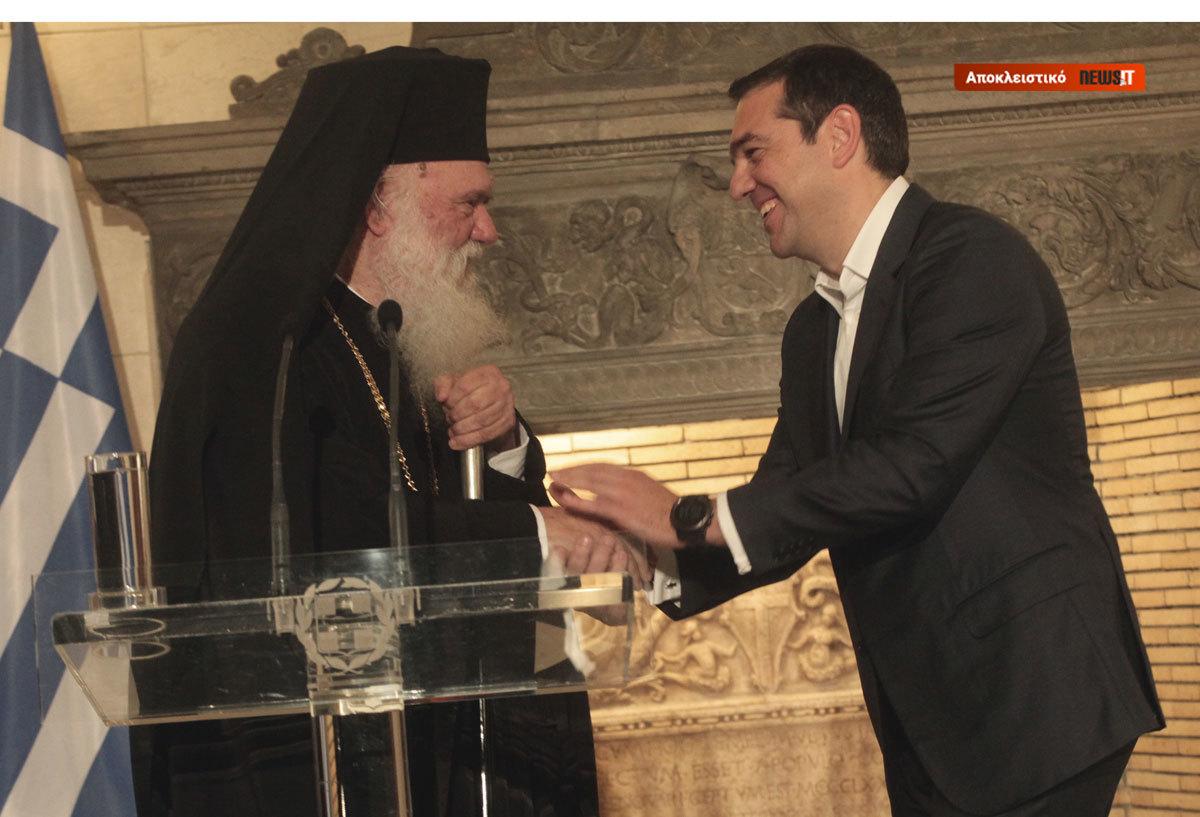 Αποκάλυψη! Κάθε δυο μήνες επί τρία ολόκληρα χρόνια γραφόταν η συμφωνία Τσίπρα – Ιερώνυμου