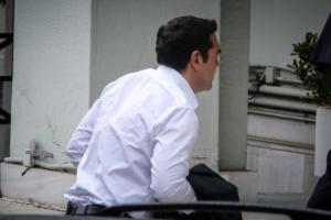 Στο υπουργείο Εξωτερικών ο Αλέξης Τσίπρας