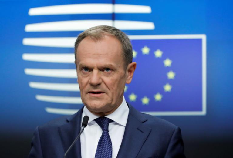 Τουσκ: Άτακτη έξοδος ή παραμονή στην ΕΕ αν δεν περάσει η συμφωνία για το Brexit!