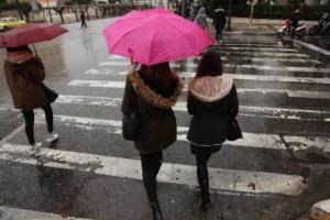 Καιρός: Πάρτε μια ομπρέλα μαζί σας