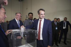 Τα μέλη της νέας Πολιτικής επιτροπής της ΝΔ ψήφισε ο Κυριάκος Μητσοτάκης