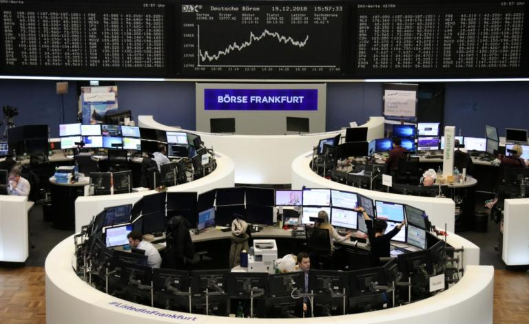 """""""Μαύρα"""" Χριστούγεννα για τα ευρωπαϊκά Χρηματιστήρια"""