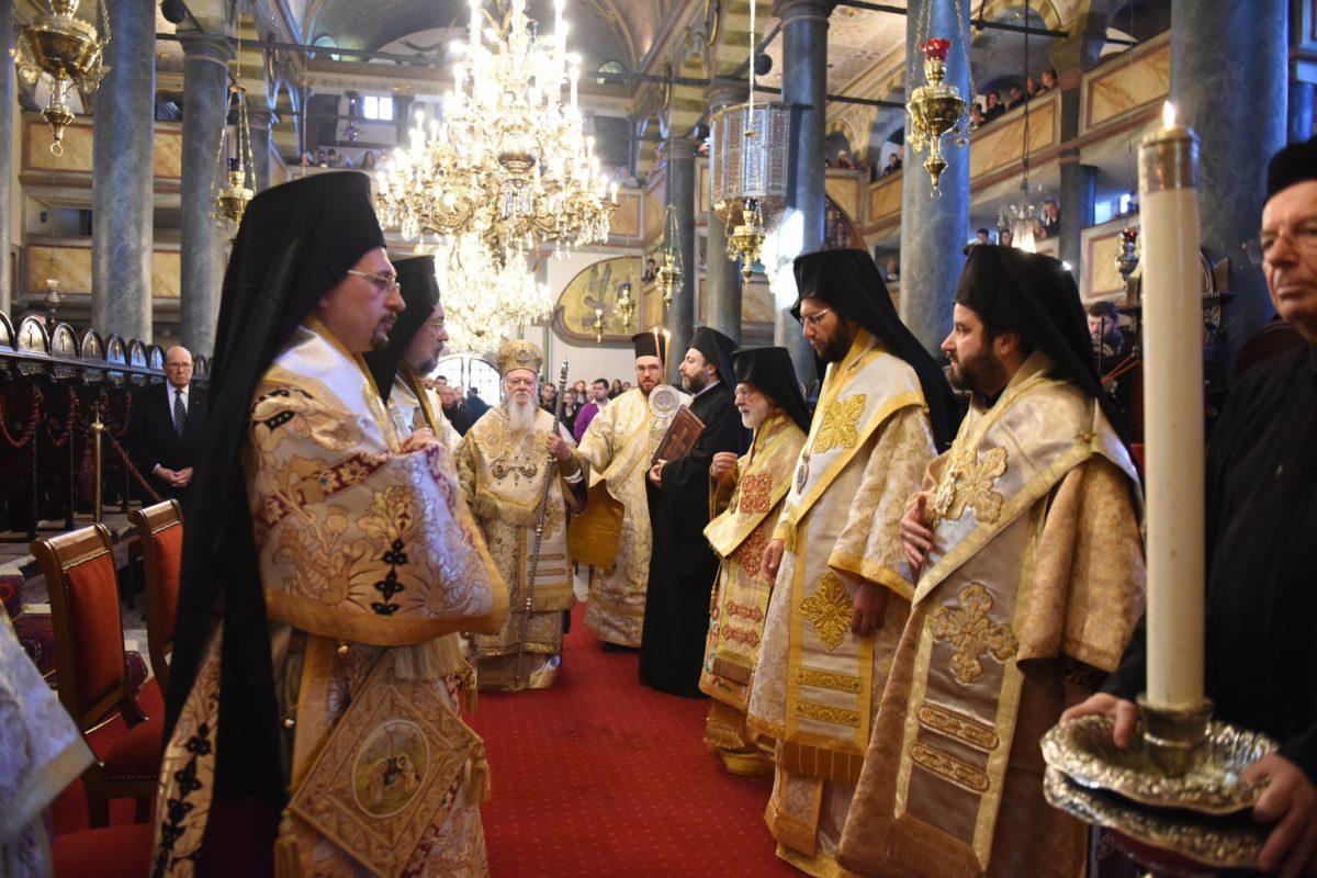 """Βαρθολομαίος: """"Το μέλλον ανήκει εις τον Χριστόν, ο Οποίος είναι χθες και σήμερον ο αυτός και εις τους αιώνας"""""""