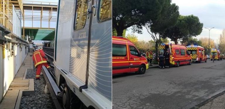Εκτροχιάστηκε συρμός του μετρό στη Μασσαλία – Πολλοί τραυματίες