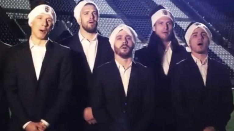 """ΠΑΟΚ: Το… final show του """"δικέφαλου του Βορρά"""" για τα Χριστούγεννα! video"""