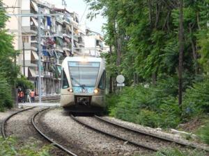 Κόλλησε τρένο του προαστιακού στο Κορωπί