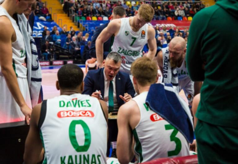 """Ζαλγκίρις – Ολυμπιακός, Γιασικεβίτσιους: """"Να ματσάρουμε τη μαχητικότητα τους"""""""