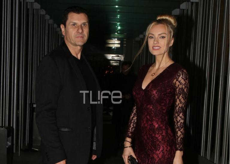 Τζούλια Νόβα: Σπάνια βραδινή έξοδος με τον σύντροφό της! [pics]