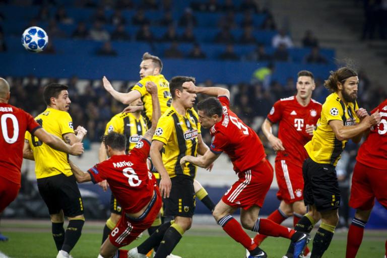 AEK: Πρόστιμο από την UEFA για το παιχνίδι με την Μπάγερν