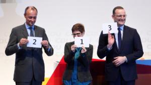Μετά τη Μέρκελ ποιος; Αυτοί είναι οι τρεις υποψήφιοι για την ηγεσία του CDU [pics]