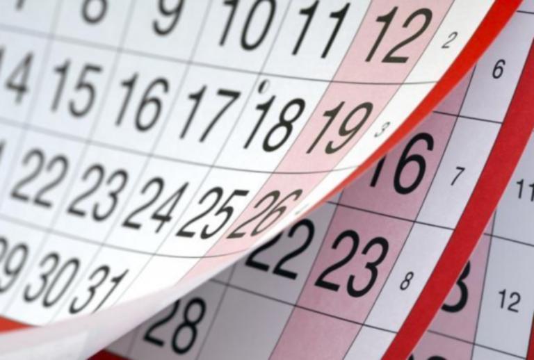 Αργίες 2019: Ποιες πέφτουν Κυριακή και ποια είναι τα τριήμερα