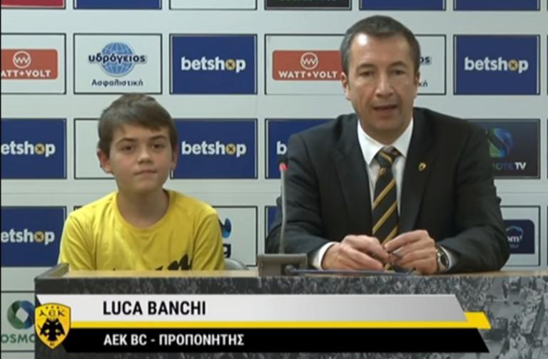 AEK: Ο Μπάνκι έκανε viral τον πιτσιρικά φίλο της Ένωσης! – video
