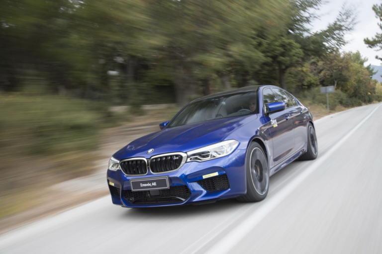 Δοκιμάζουμε τη νέα BMW M5 στην πίστα των Σερρών
