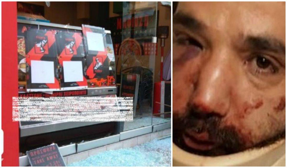 Θεσσαλονίκη: Η απάντηση του εργοδότη για τον ξυλοδαρμό του ντελιβερά – Η επίθεση στην πιτσαρία του – video