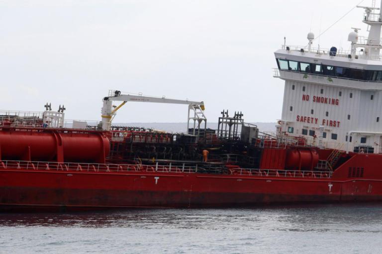 """Δεν υπάρχει θαλάσσια ρύπανση στην Κύπρο μετά το ατύχημα στο πετρελαιοφόρο """"Άθλος"""""""