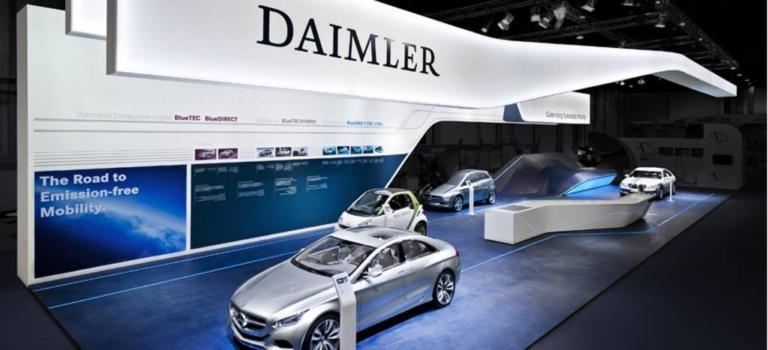 H Daimler επενδύει άλλα 20 δις ευρώ για την ηλεκτροκίνηση