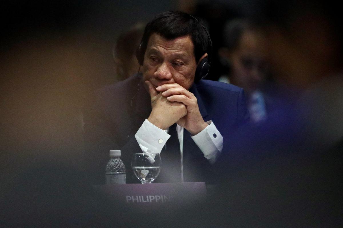 Φιλιππίνες - Πρόεδρος Ντουέρτε