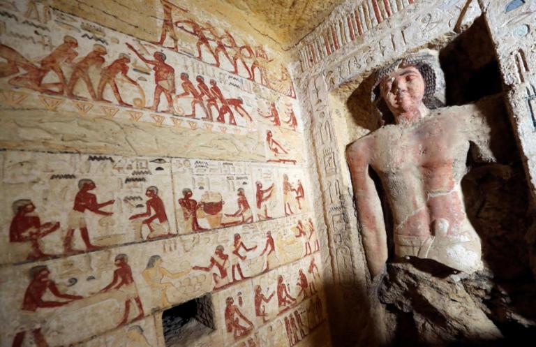 Ανακαλύφθηκε τάφος 4.400 χρόνων στην Αίγυπτο! Εντυπωσιακές φωτογραφίες!