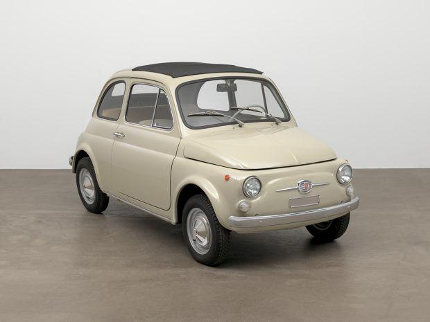 Το FIAT 500 στο Μουσείο Μοντέρνας Τέχνης της Νέας Υόρκης