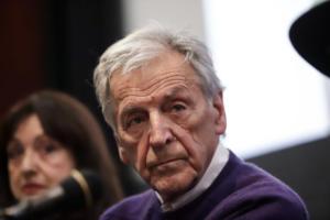 Ο Κώστας Γαβράς τιμήθηκε από την Ευρωπαϊκή Ακαδημία Κινηματογράφου