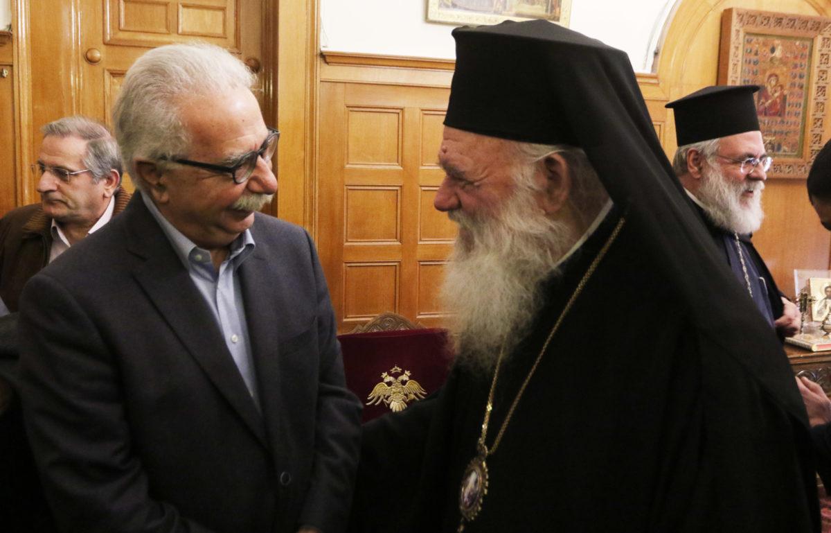 Γαβρόγλου: Καλύτερη συνεργασία το 2019 ανάμεσα σε Πολιτεία και Εκκλησία