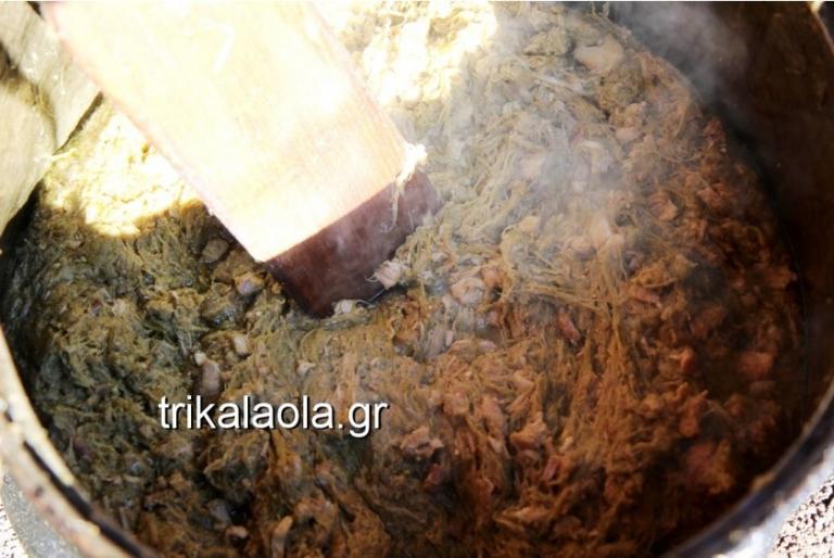 Τρίκαλα: Αναβίωσε το έθιμο της γουρνοχαράς και της τσιγαρίδας – video