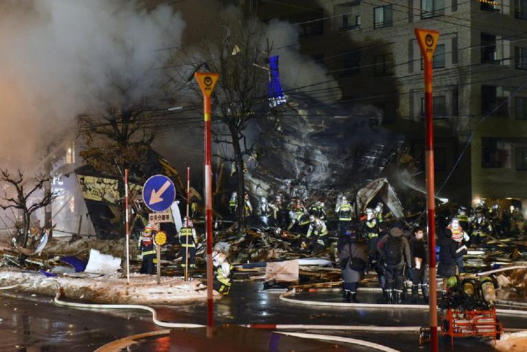 Έκρηξη με πάνω από 40 τραυματίες στην Ιαπωνία!