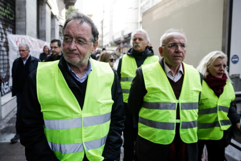 """Στο Παρίσι με τα """"κίτρινα γιλέκα"""" ο Λαφαζάνης!"""